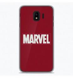 Coque en silicone Samsung Galaxy J4 2018 - Marvel