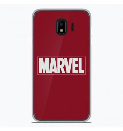 Coque en silicone pour Samsung Galaxy J4 2018 - Marvel