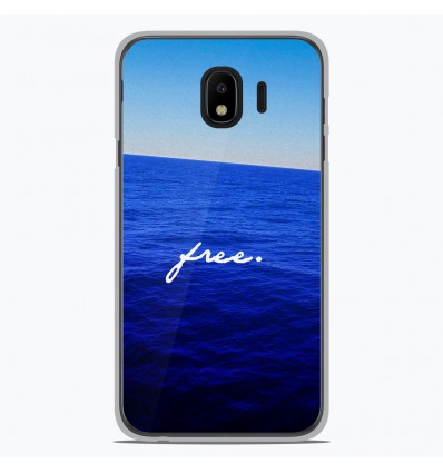 Coque en silicone pour Samsung Galaxy J4 2018 - Océan free