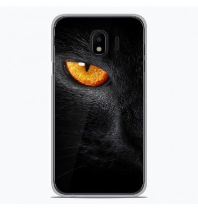 Coque en silicone pour Samsung Galaxy J4 2018 - Oeil de Panterre