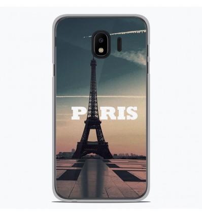 Coque en silicone Samsung Galaxy J4 2018 - Paris