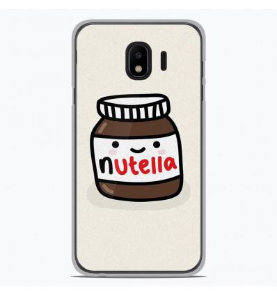 Coque en silicone Samsung Galaxy J4 2018 - Pate à tartiner