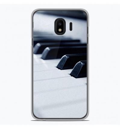 Coque en silicone Samsung Galaxy J4 2018 - Piano
