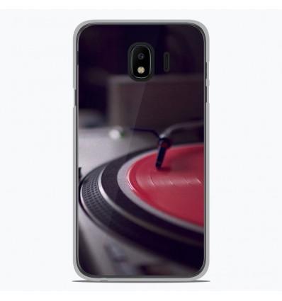 Coque en silicone Samsung Galaxy J4 2018 - Platine