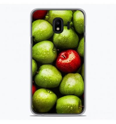 Coque en silicone Samsung Galaxy J4 2018 - Pommes