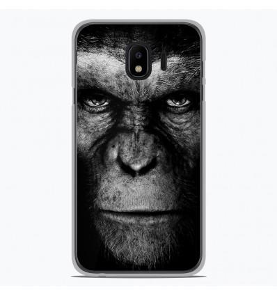 Coque en silicone pour Samsung Galaxy J4 2018 - Singe