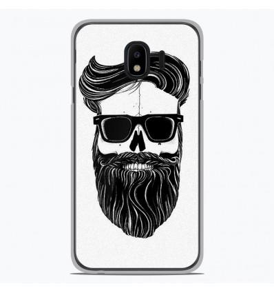 Coque en silicone Samsung Galaxy J4 2018 - Skull Hipster