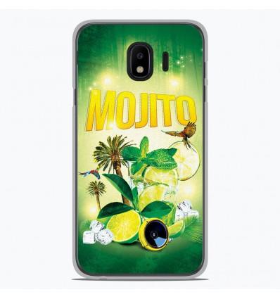 Coque en silicone pour Samsung Galaxy J4 2018 - Mojito Forêt