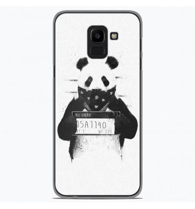 Coque en silicone Samsung Galaxy J6 2018 - BS Bad Panda