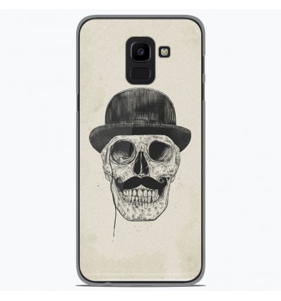 Coque en silicone pour Samsung Galaxy J6 2018 - BS Class skull