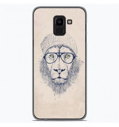 Coque en silicone Samsung Galaxy J6 2018 - BS Cool Lion