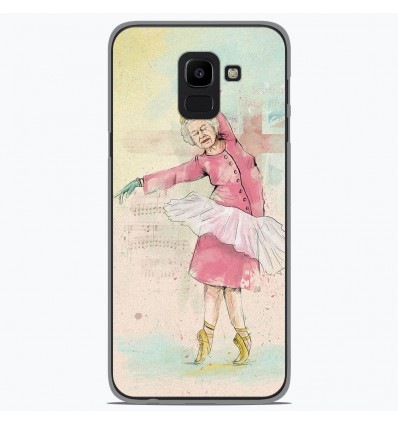 Coque en silicone Samsung Galaxy J6 2018 - BS Dancing Queen