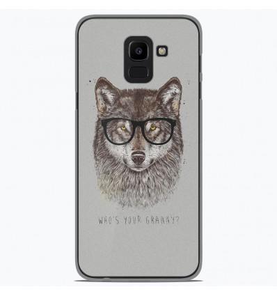 Coque en silicone Samsung Galaxy J6 2018 - BS Granny