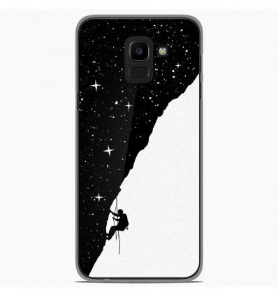 Coque en silicone Samsung Galaxy J6 2018 - BS Nightclimbing