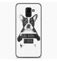 Coque en silicone Samsung Galaxy J6 2018 - BS Normal boring