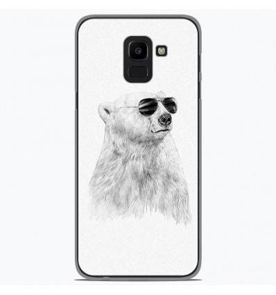 Coque en silicone Samsung Galaxy J6 2018 - BS Sunny bear