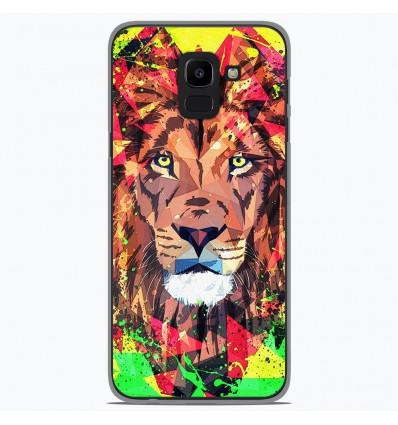 Coque en silicone Samsung Galaxy J6 2018 - ML Do you Roar