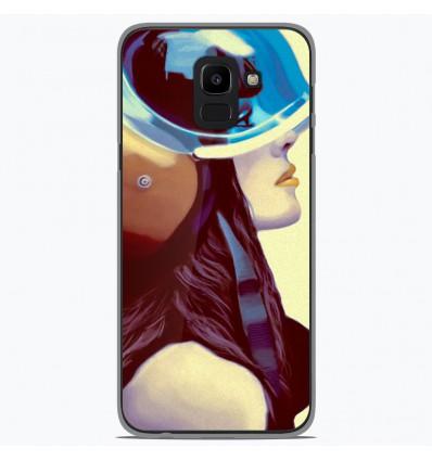 Coque en silicone pour Samsung Galaxy J6 2018 - ML Helmetraus
