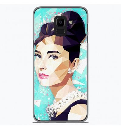 Coque en silicone Samsung Galaxy J6 2018 - ML Hepburn