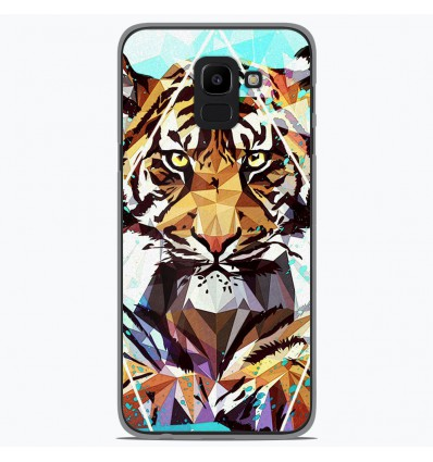 Coque en silicone pour Samsung Galaxy J6 2018 - ML It Tiger