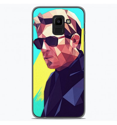 Coque en silicone Samsung Galaxy J6 2018 - ML King of Cool