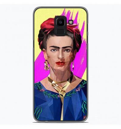 Coque en silicone Samsung Galaxy J6 2018 - ML Modern Frida