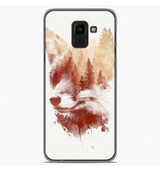 Coque en silicone Samsung Galaxy J6 2018 - RF Blind Fox