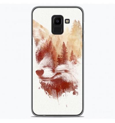Coque en silicone Samsung Galaxy J6 2018 - RF Blind Fox