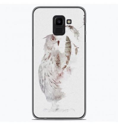 Coque en silicone pour Samsung Galaxy J6 2018 - RF Fade Out