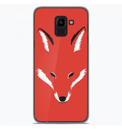 Coque en silicone pour Samsung Galaxy J6 2018 - RF Foxy Shape