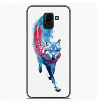 Coque en silicone pour Samsung Galaxy J6 2018 - RF Lupus Lupus