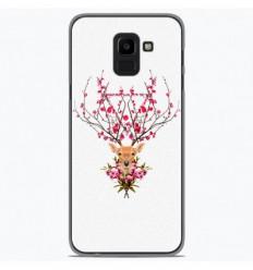 Coque en silicone Samsung Galaxy J6 2018 - RF Spring deer