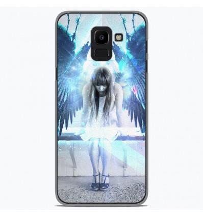 Coque en silicone Samsung Galaxy J6 2018 - Angel