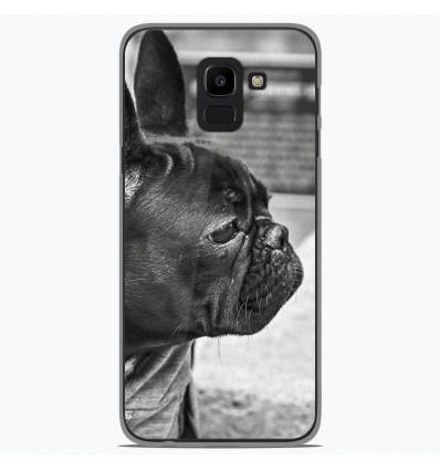 Coque en silicone Samsung Galaxy J6 2018 - Bulldog