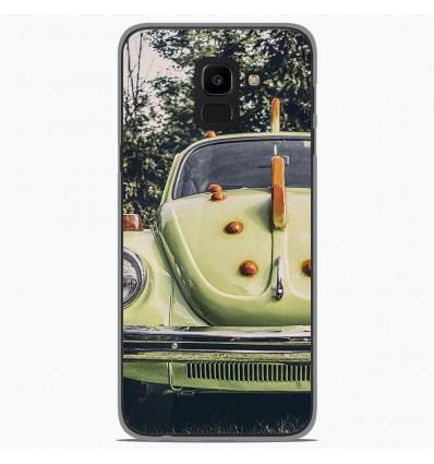 Coque en silicone pour Samsung Galaxy J6 2018 - Coccinelle