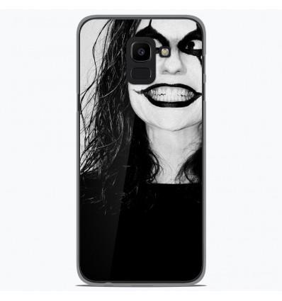 Coque en silicone Samsung Galaxy J6 2018 - Crow
