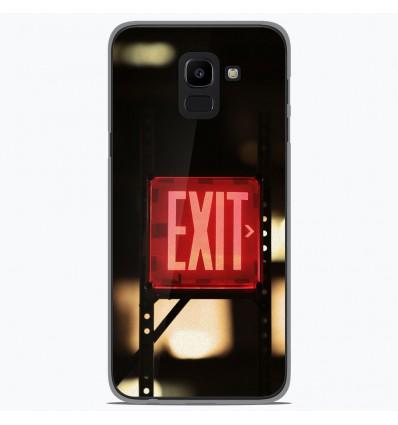 Coque en silicone Samsung Galaxy J6 2018 - Exit