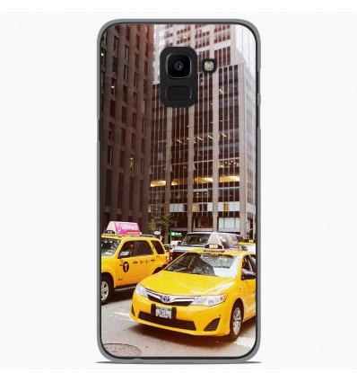 Coque en silicone pour Samsung Galaxy J6 2018 - NY Taxi
