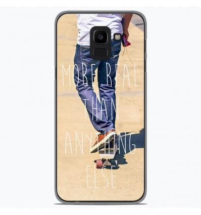Coque en silicone Samsung Galaxy J6 2018 - Real