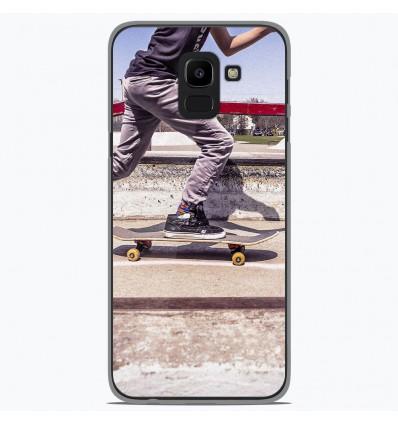 Coque en silicone Samsung Galaxy J6 2018 - Skate