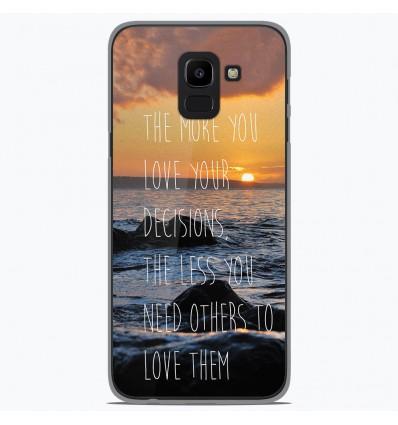 Coque en silicone Samsung Galaxy J6 2018 - Sunshine