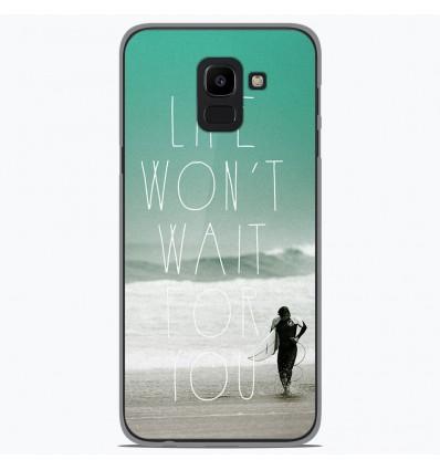 Coque en silicone Samsung Galaxy J6 2018 - Surfer