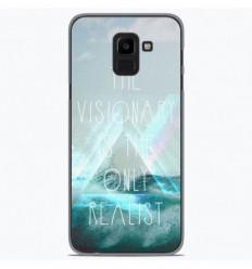 Coque en silicone Samsung Galaxy J6 2018 - Visionary