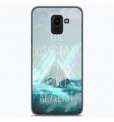 Coque en silicone pour Samsung Galaxy J6 2018 - Visionary