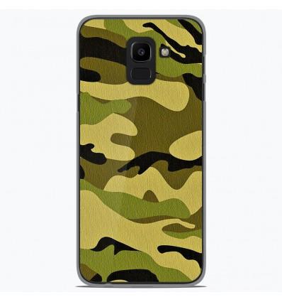 Coque en silicone Samsung Galaxy J6 2018 - Camouflage