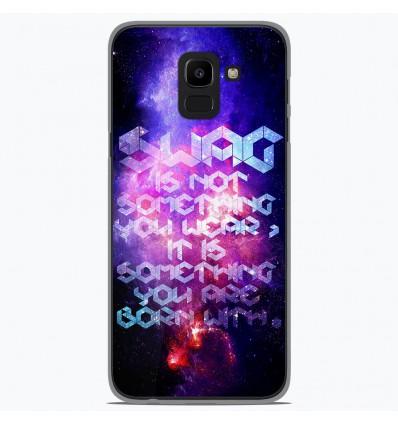 Coque en silicone Samsung Galaxy J6 2018 - Cosmic swag
