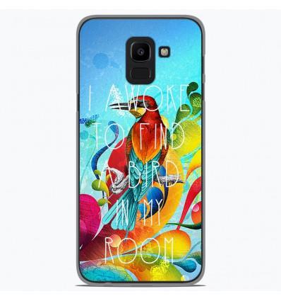 Coque en silicone Samsung Galaxy J6 2018 - Mocking bird