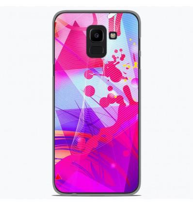 Coque en silicone Samsung Galaxy J6 2018 - Square