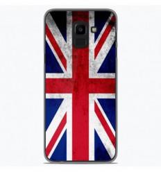 Coque en silicone Samsung Galaxy J6 2018 - Drapeau Angleterre