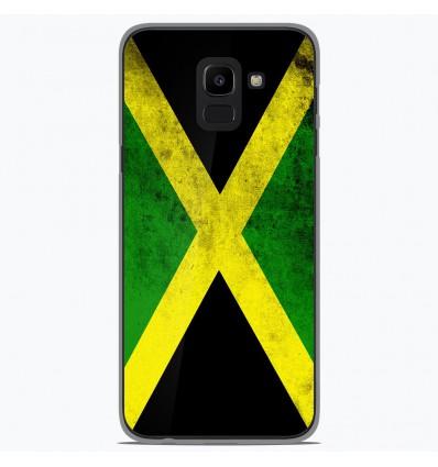 Coque en silicone Samsung Galaxy J6 2018 - Drapeau Jamaïque